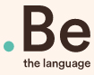 Be the language  logo