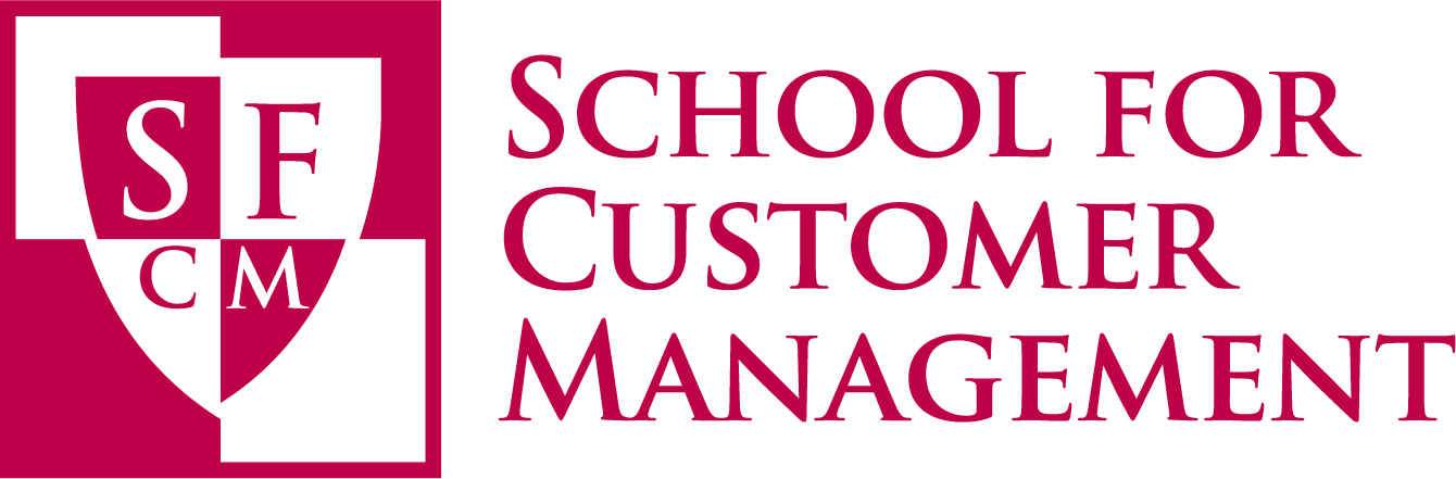 School for Customer Management logo